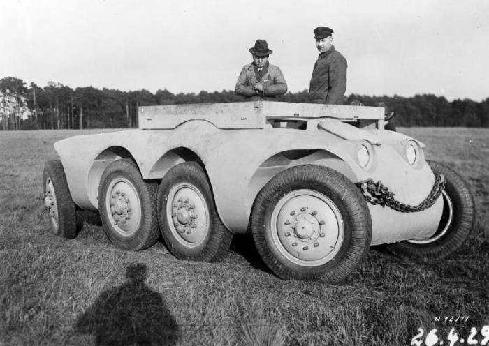 Daimler-Benz MTw 1. | Фото: Porsche cars history.