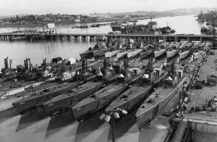 Подводные лодки типа «Gato», США| Фото: Военное обозрение.