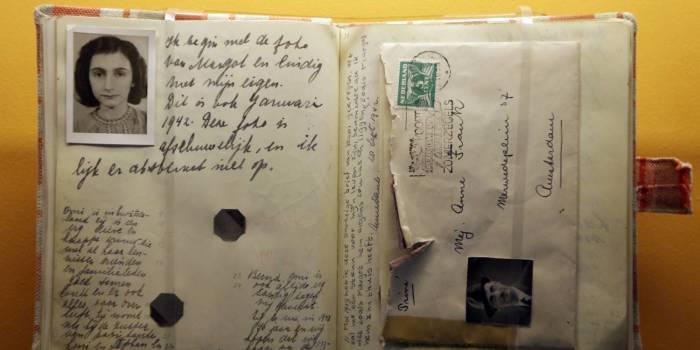 Письма Анны Франк. | Фото: Казанский репортер.
