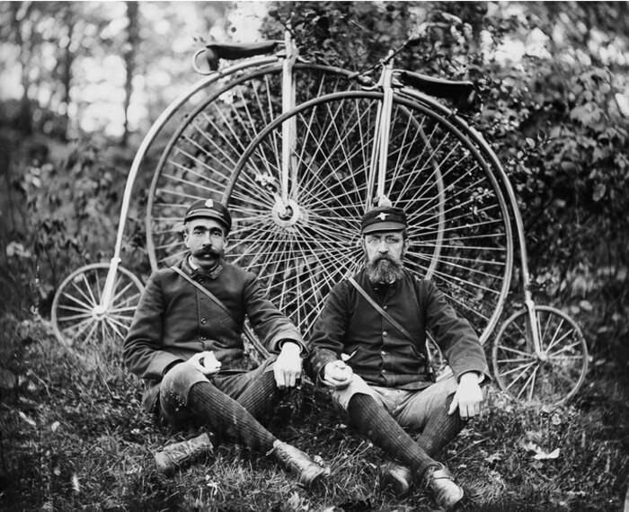 Пауки — распространенный вид велосипедов в конце XIX века.