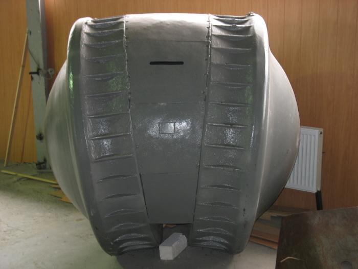 Немецкий танк-шар.