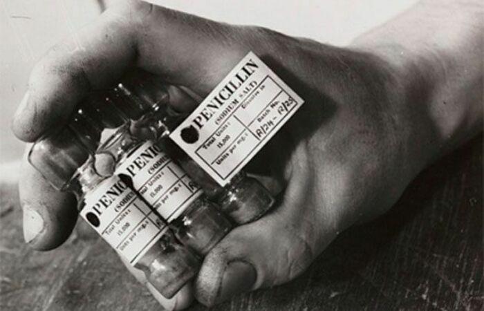Пенициллин — самый популярный антибиотик во время войны.