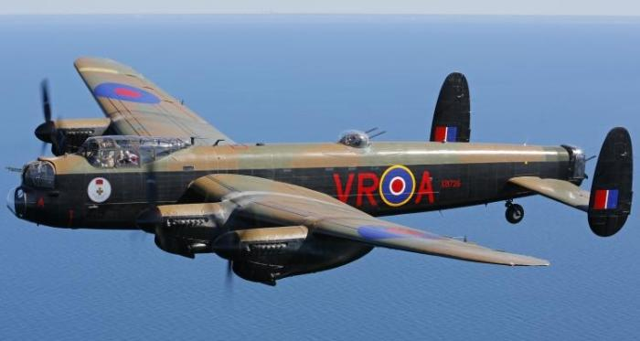 Avro Lancaster. | Фото: Aircraft Details.