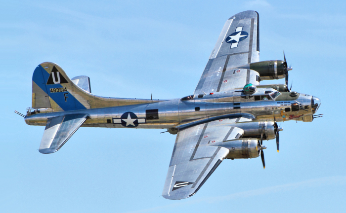 Boeing B-17 Flying Fortress. | Фото: Wikipedia.