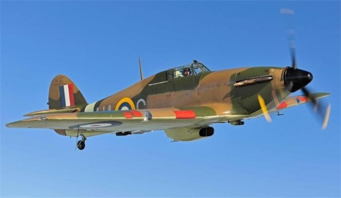 Истребитель Hawker Hurricane. | Фото: VilingStore.