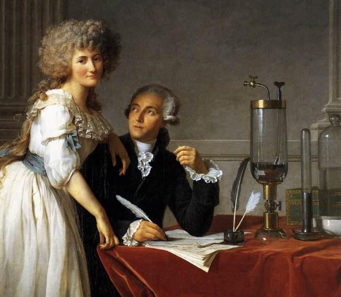 Мари-Анн и Антуан Лавуазье. | Фото: Wikipédia.