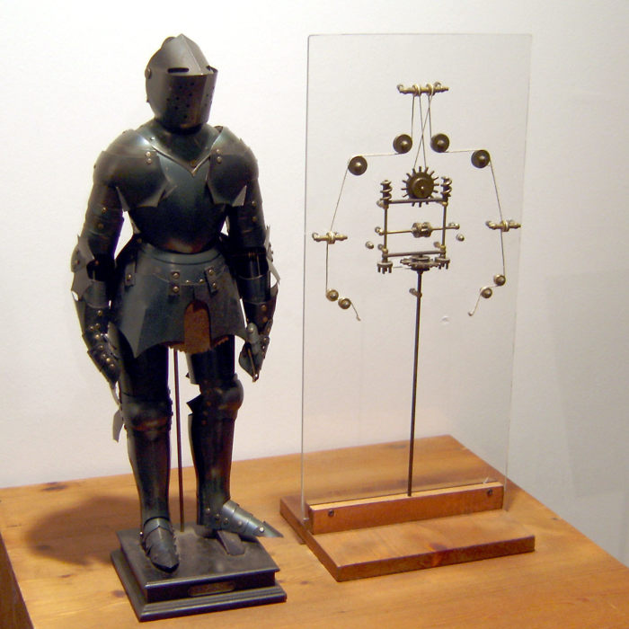 Рыцарь да Винчи. | Фото: Википедия.