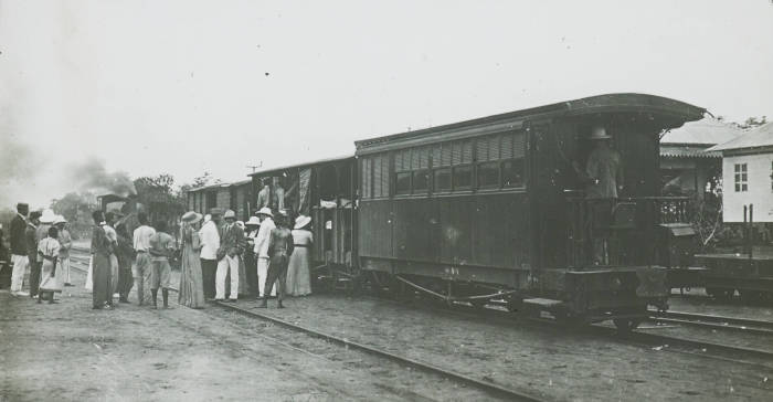 Железная дорога Кейптаун-Камерун.