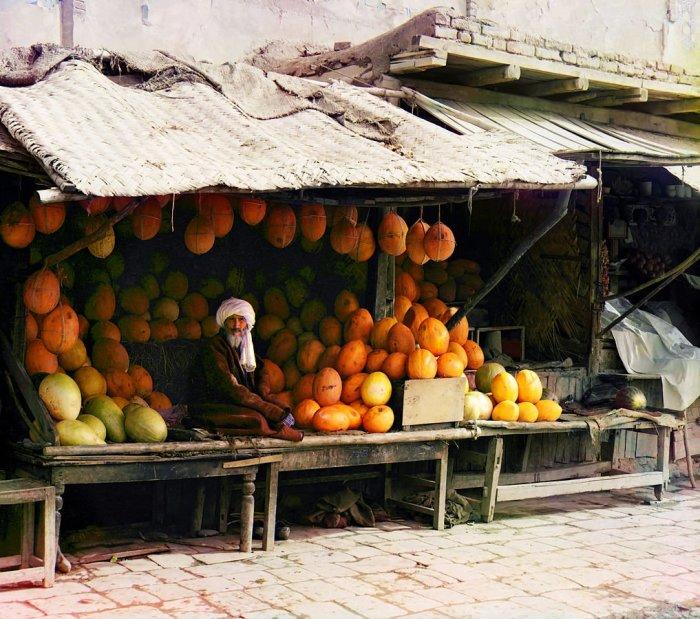 Продавец дынь в Самарканде| Фото: Sputnik Грузия.