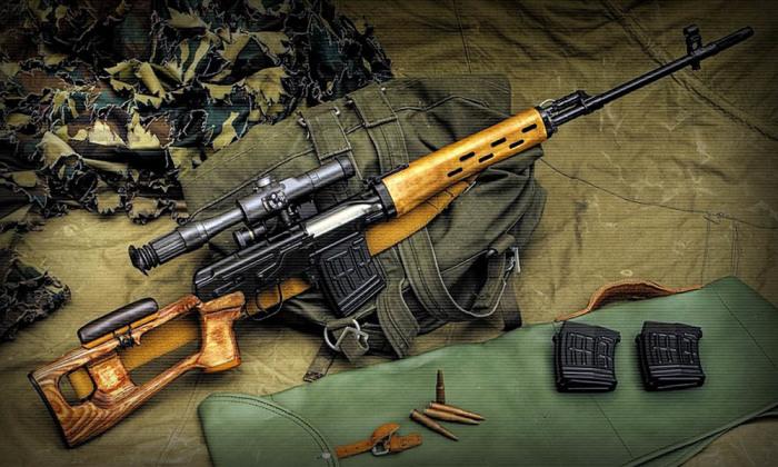снайперская винтовка СВД. | Фото: Last Day Club.