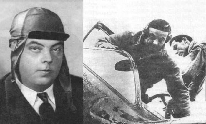 Из-за полученных при авариях самолетов травм Экзюпери забирался в кабину с помощью механика. | Фото: LiveJournal.