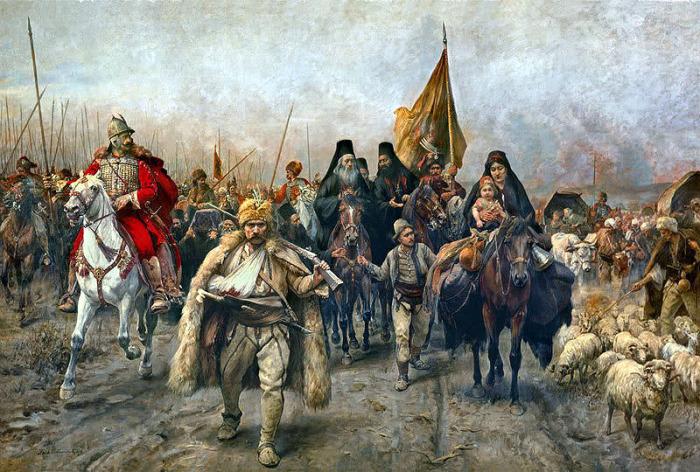Сербско-болгарская война.