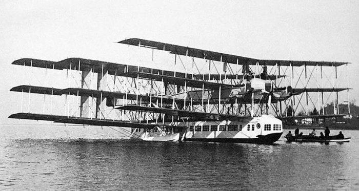Caproni Ca.60 Transaereo. | Фото: Популярная механика.