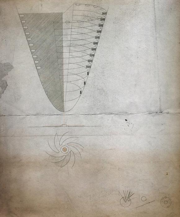 План и разрез города. В нижнем углу схемы, объясняющие формообразование города. | Фото: togdazine.ru.