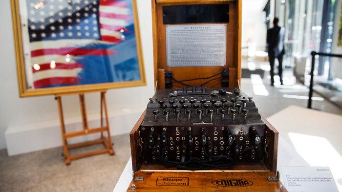 Шифровальная машина «Энигма». | Фото: НТВ.