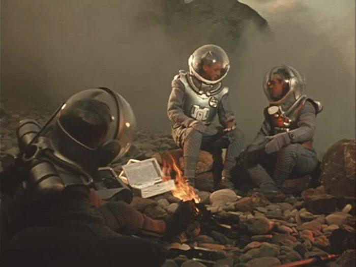 Кадр из фильма «Планета бурь», 1957. | Фото: Википедия.