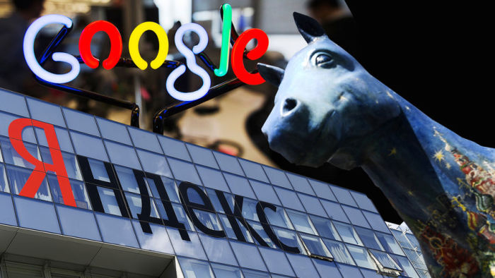 Яндекс против Google. | Фото: Газета.Ру.