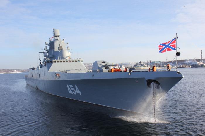 «Адмирал Горшков» отправился в первое дальнее плавание. | Фото: Topwar.