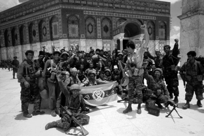 Арабо-израильская война.