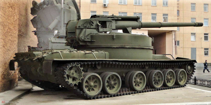 «Объект 327». | Фото: forum.warthunder.ru.