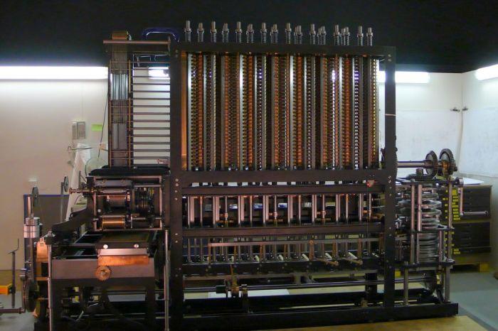 Вычислительная машина Бэббиджа| Фото: Википедия.