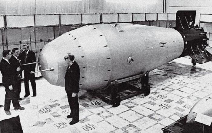 Вершина Советской ядерной программы — «Царь-бомба».