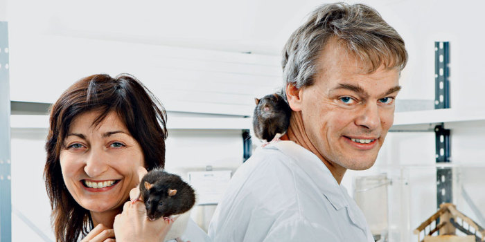 "Мей-Бритт и Эдвард Мозер. | Фото: Журнал ""Эксперт""."