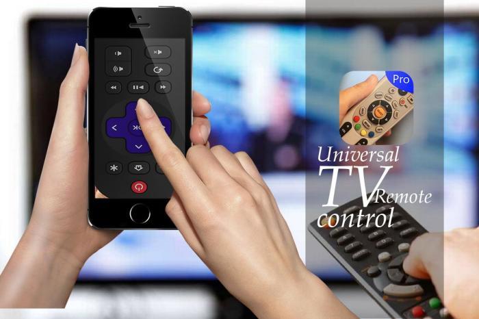 Приложение Universal TV Remote