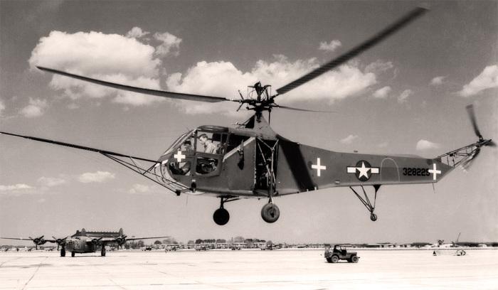 Вертолет Sikorsky R-4. | Фото: Википедия.