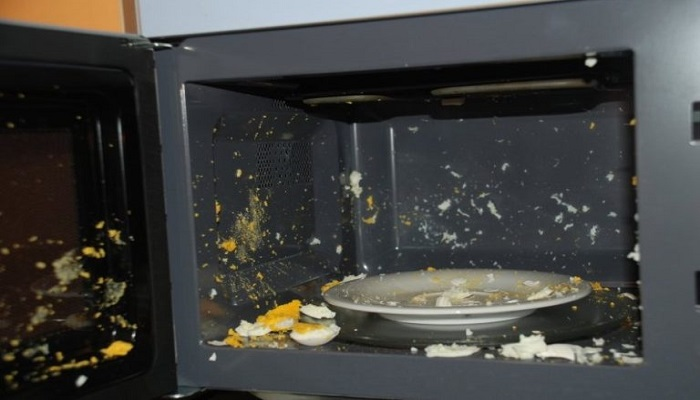 Никогда не варите яйца в микроволновке. / Фото: cosmo-frost.ru