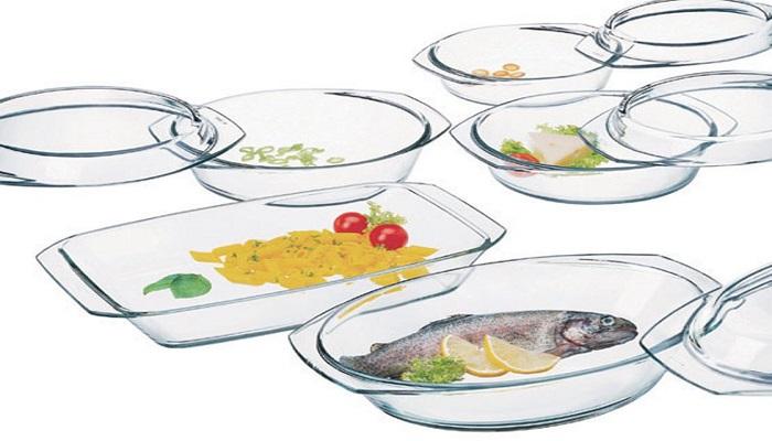 Кухонная посуда из стекла. / Фото: eaomedia.ru