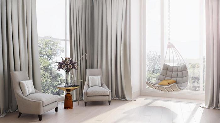 В комнате должен быть уютный уголок для отдыха. / Фото: etk-fashion.com