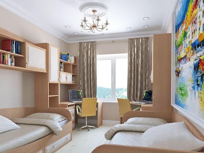 В детской комнате должно быть большое окно. / Фото: roomester.ru
