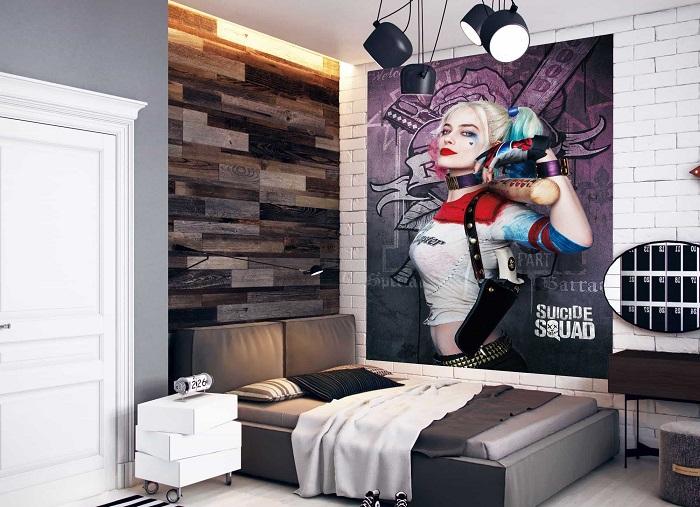 Постеры могут украшать только стены подростковой комнаты. / Фото: walldeco.ua