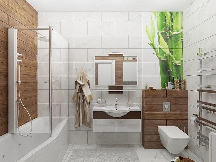 Ванная комната должна быть светлой и просторной. / Фото: bestroof.ru