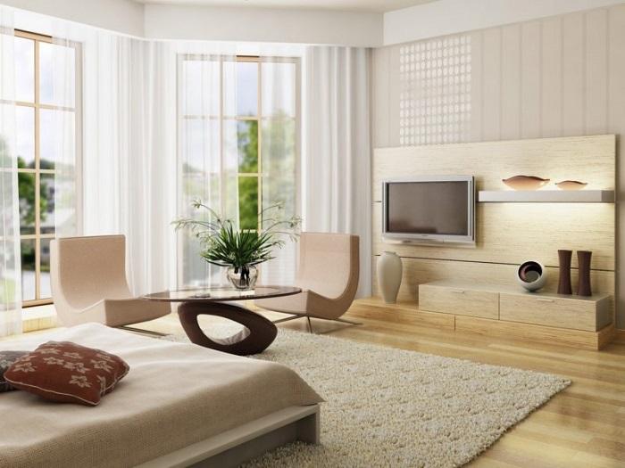 """Светлая мебель - идеальное решение для """"ленивой"""