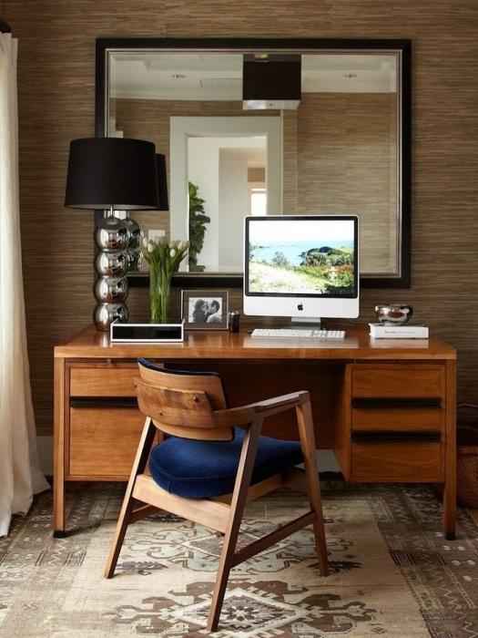 Деревянная мебель дарит уют. / Фото: prohandmade.ru