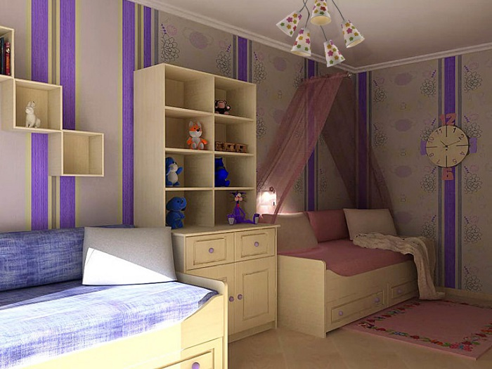 Зонирование комнаты при помощи мебели. / Фото: stroitelstvo21.ru