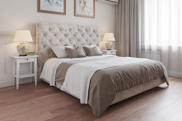 Кровать должна быть не только красивой, но и удобной. / Фото: ticapac.pp.ua