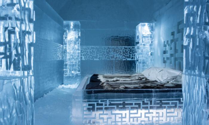 Швеция, холод, лед - искусство | Фото: airbnb.ru