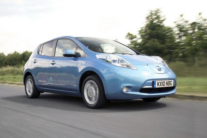 Nissan Leaf. | Фото: infocar.ua