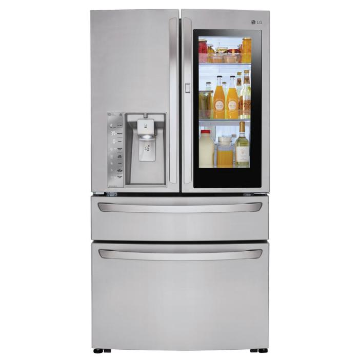 Холодильник с сенсорным экраном фирмы LG | Фото: moyo.ua