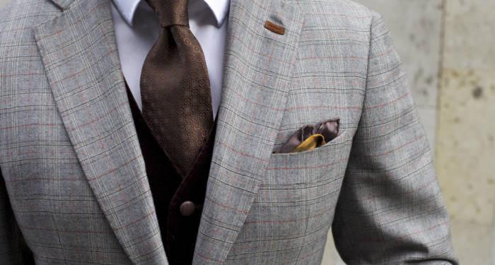 петлица сверху пиджака | Фото: asos.com