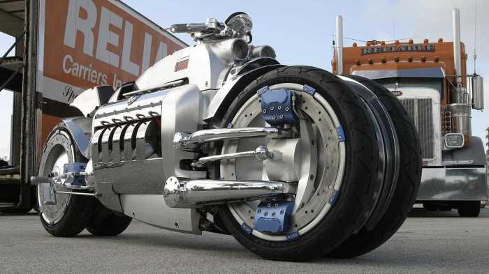 «Томагавк» может развить скорость в 482.8 км/ч. | Фото: rideapart.com