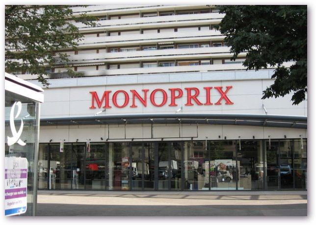 Один из магазинов Monoprix. | Фото: sites.google.com