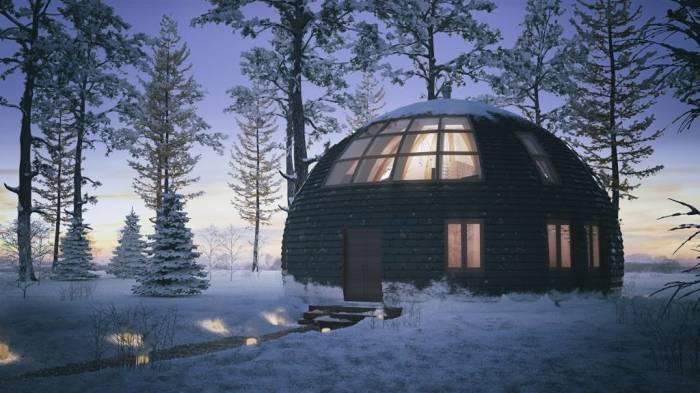 Зимой дом теплее, летом прохладней. | Фото: vkurselife.com
