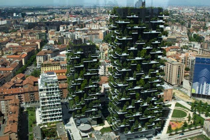 Во многих развитых странах озеленяют фасады. | Фото: realty.rbc.ru