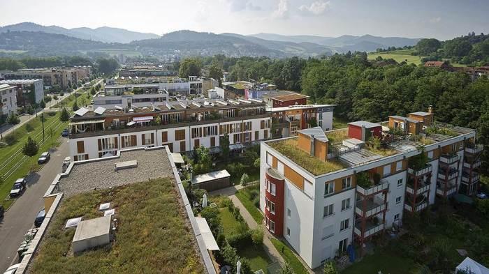 Озеленение домов. | Фото: kommersant.ru