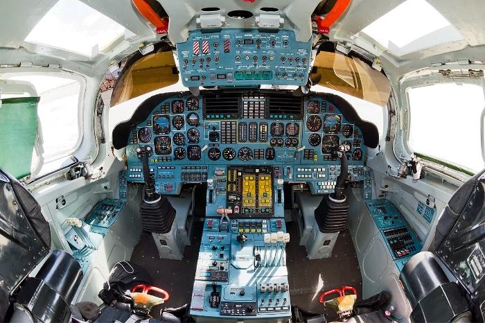 Салон Ту-160. /Фото: <br>wikipedia.org