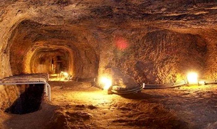 Огромный подземный водовод был придуман несколько тысяч лет назад. /Фото: newsbeast.gr